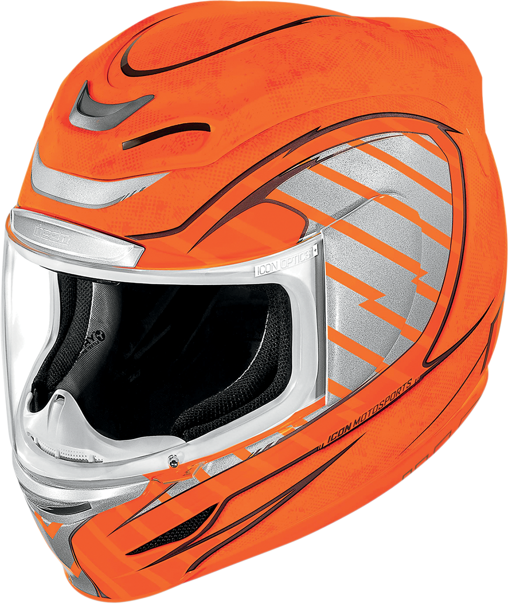 Helmets png images free. Motorcycle clipart orange