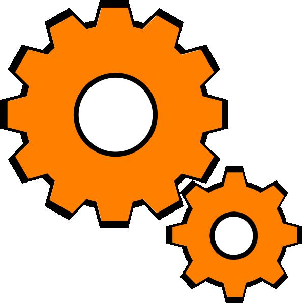 Gears orange
