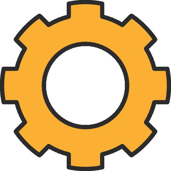 Gears motor wheel