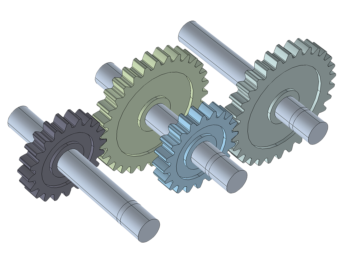 Multibody dynamics module a. Gears clipart functionality