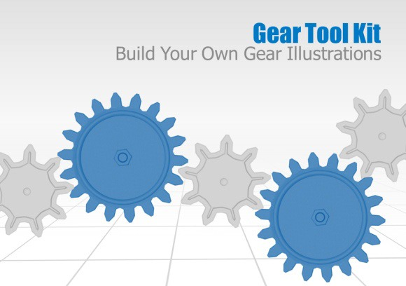 Gear clipart powerpoint. Animated gears toolkit and