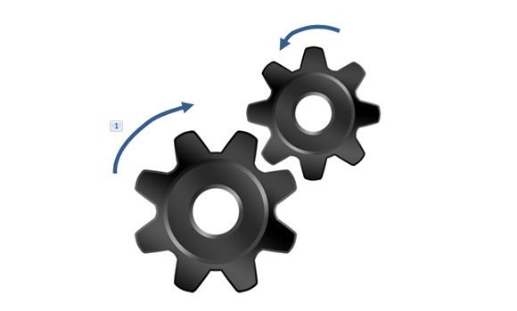 Gear clipart powerpoint. Animated cogs in and