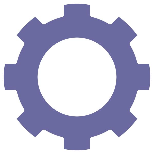 Zahnrad blue clip art. Gears clipart production