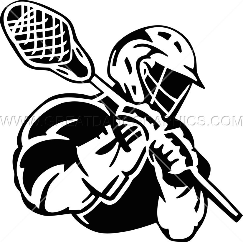 Gears clipart production. Lacrosse player ready artwork