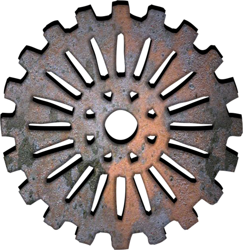 Gears engrenage png origami. Gear clipart pulley gear