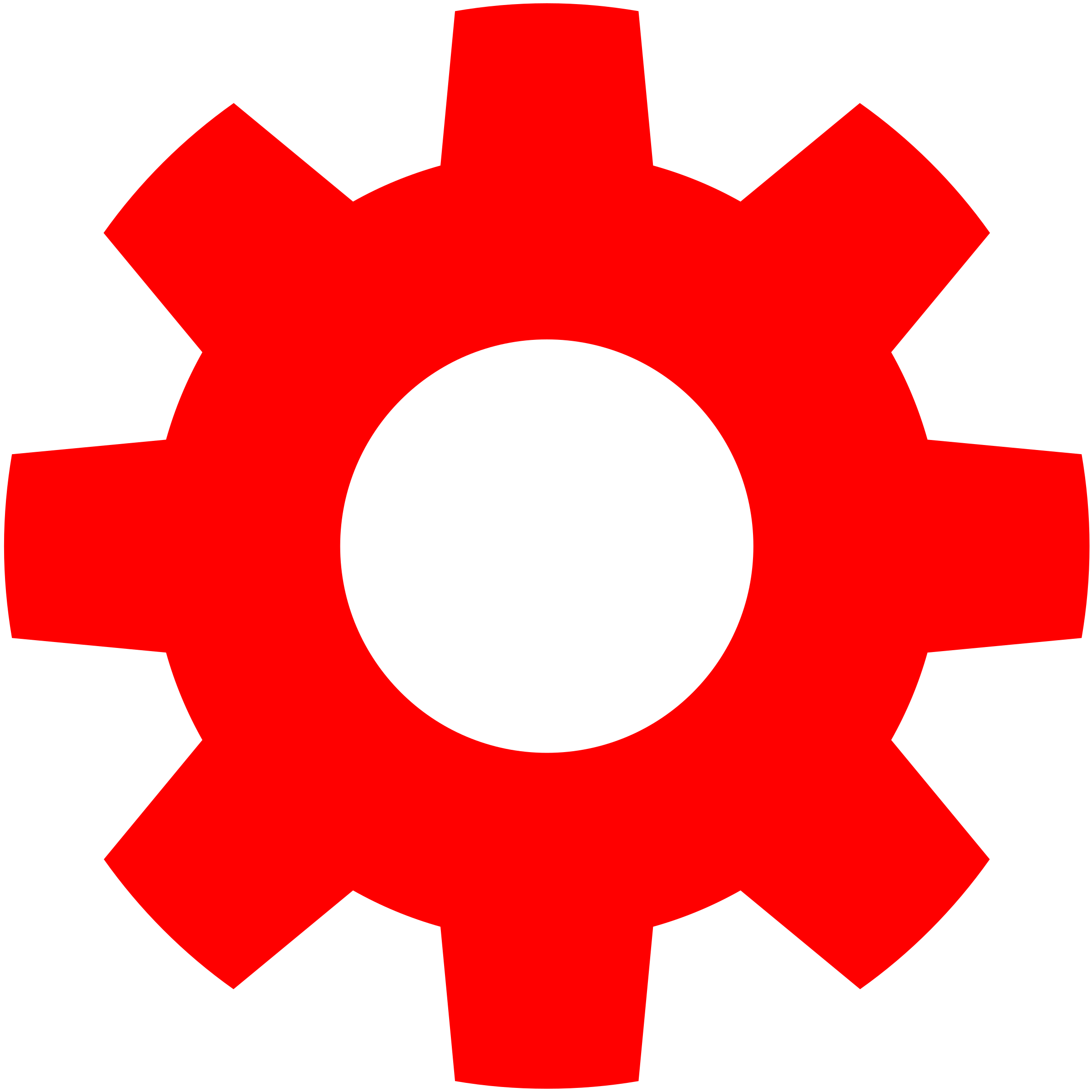 Gear clipart red. In big image png