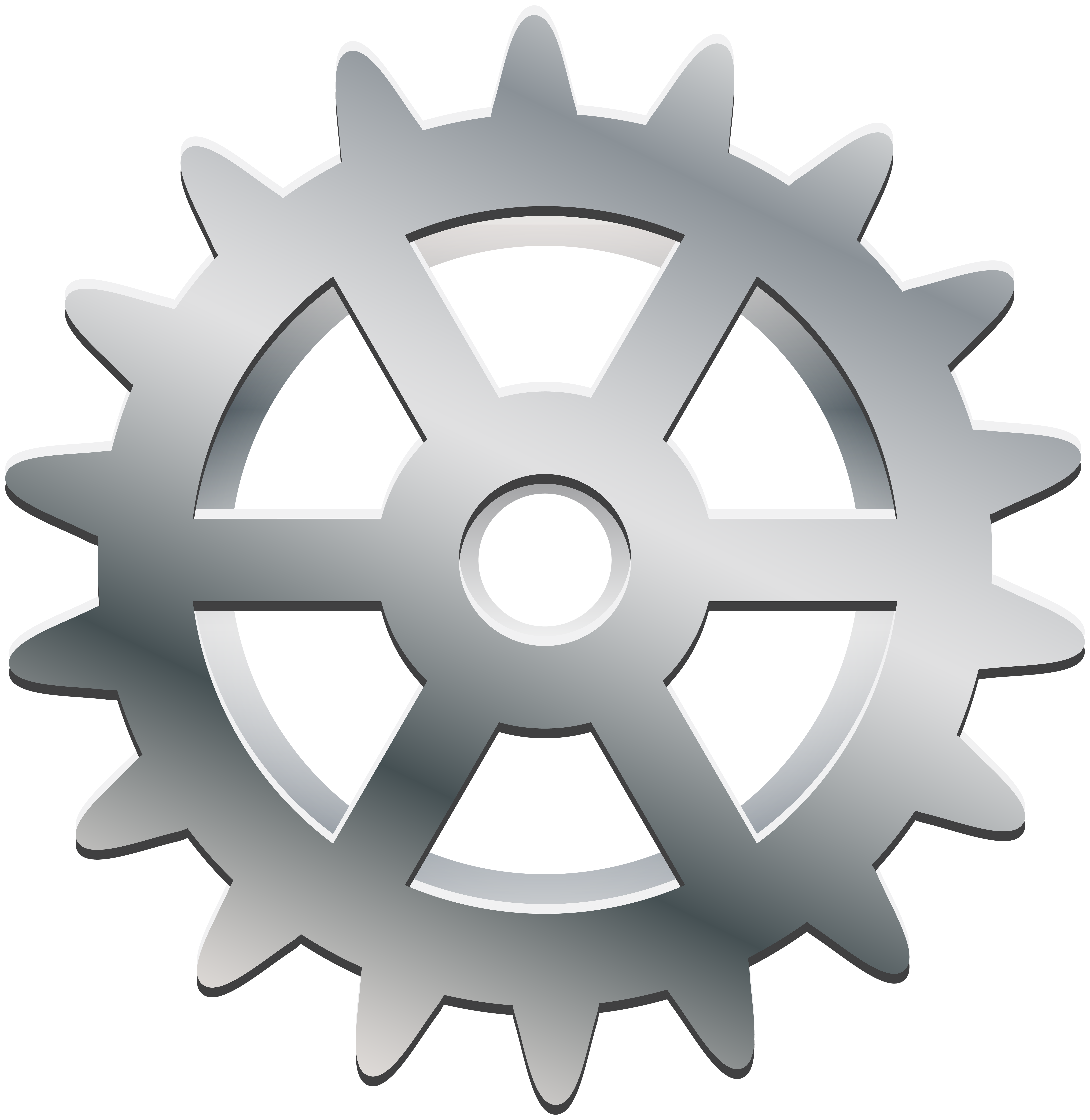 Wheel clipart hubcap. Silver gear transparent png