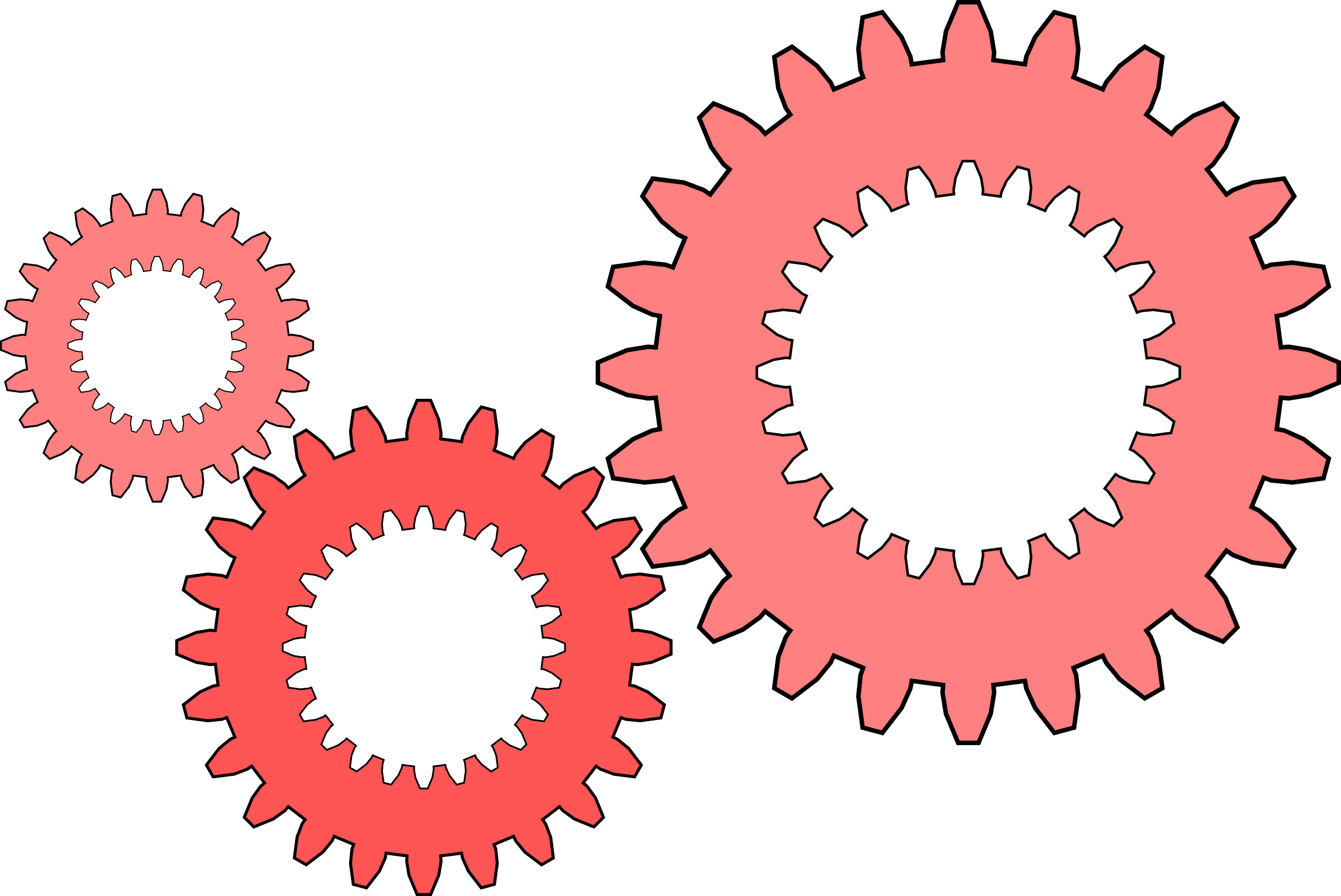 Gear clipart red. Gears big image png