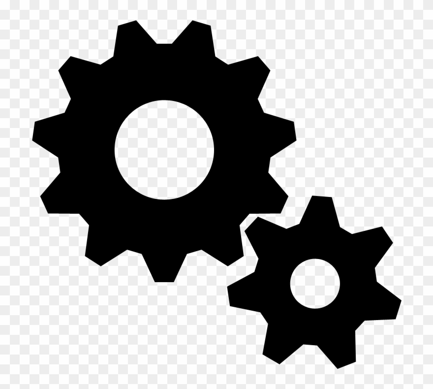 Functionality transparent . Gears clipart car gear