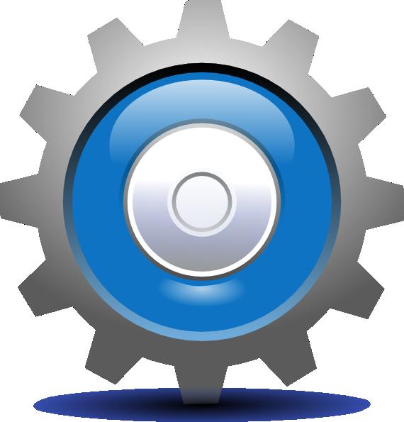 Gear clipart setting. Clip art panda free