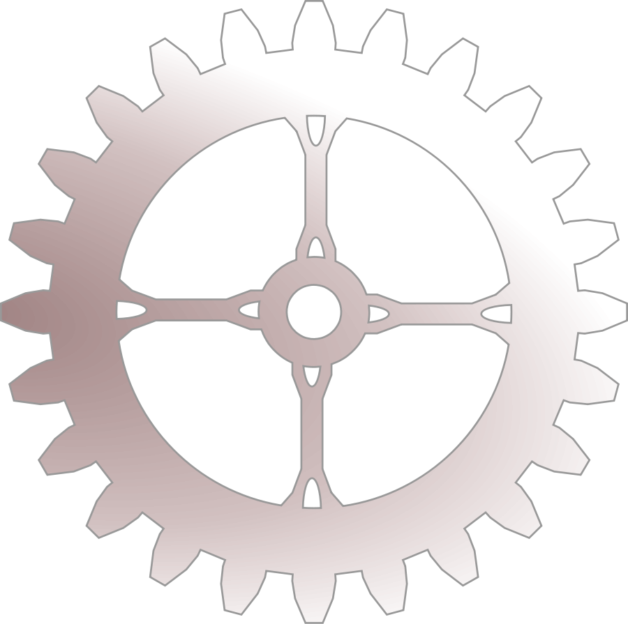 Free steampunk cliparts download. Gear clipart silhouette