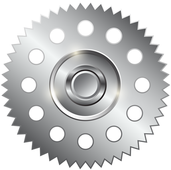 Clip art png image. Gear clipart silver