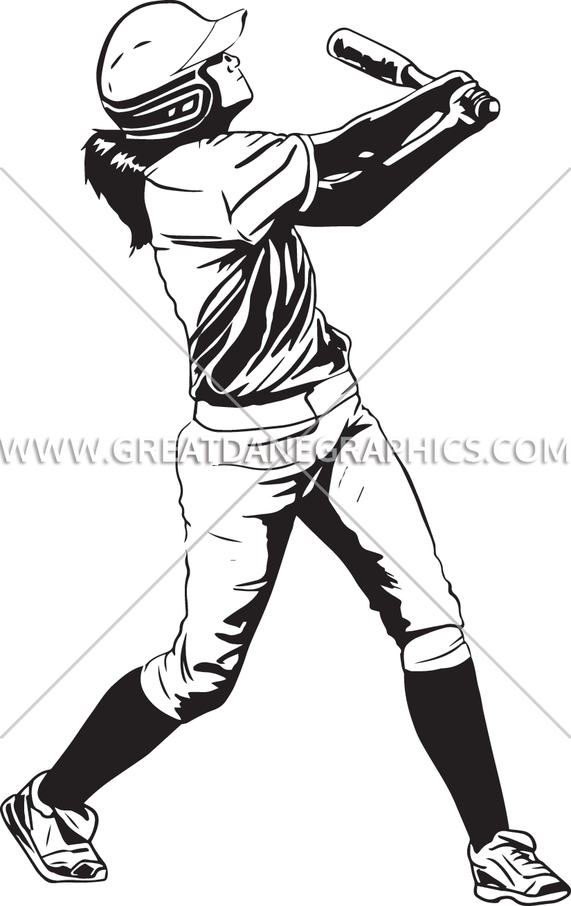 White clipart softball. Collage production ready artwork
