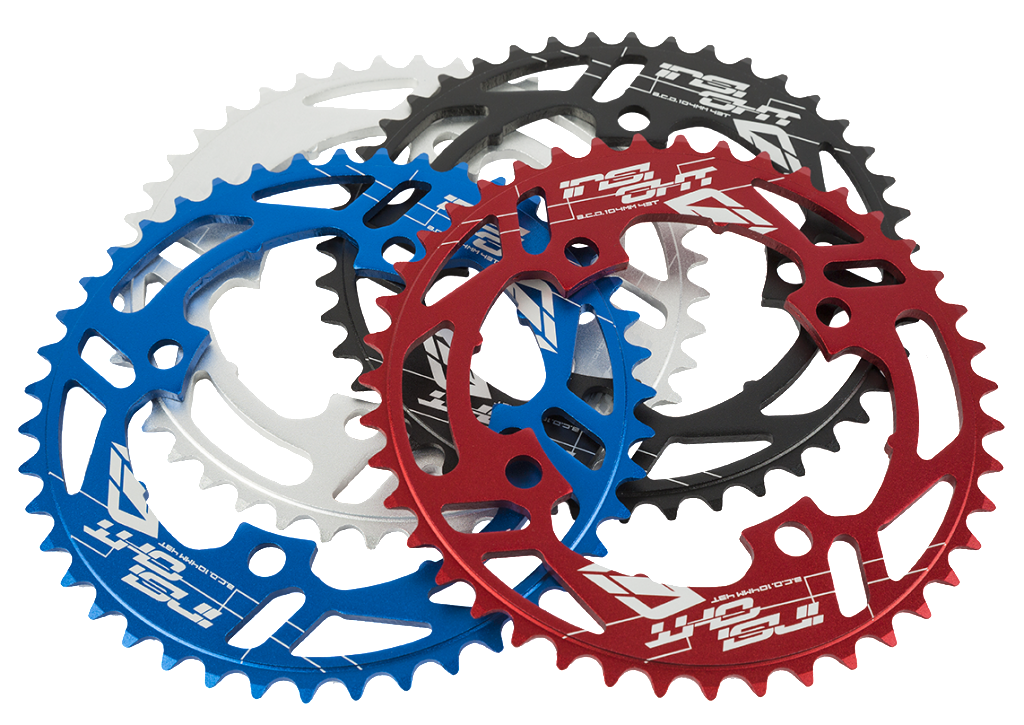 New bolt pattern chainrings. Gear clipart sprocket