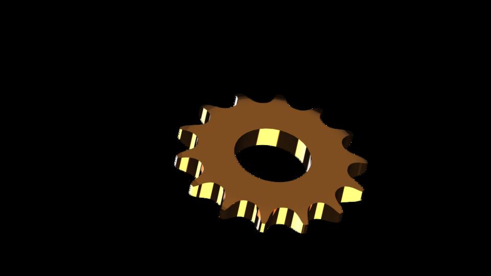 Gear clipart sprocket. Parametric roller chain d