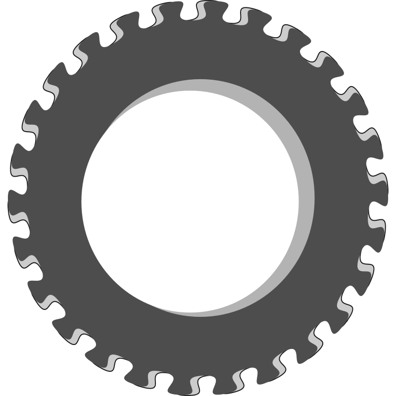 Wheel clip art fancy. Gear clipart sprocket