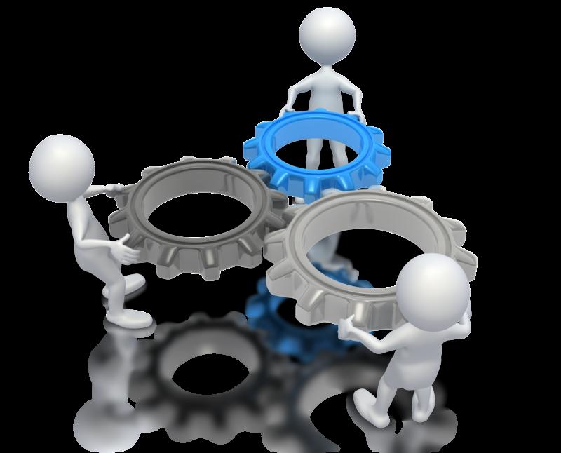 Teamwork clipart presenter media. Implementation mortgagetech