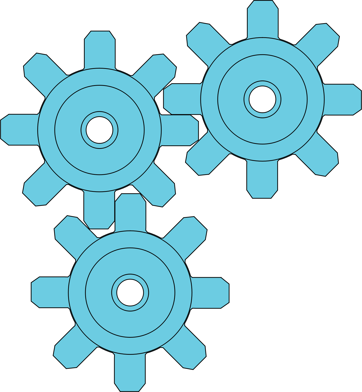 Gears clipart mechanical part. Big image png