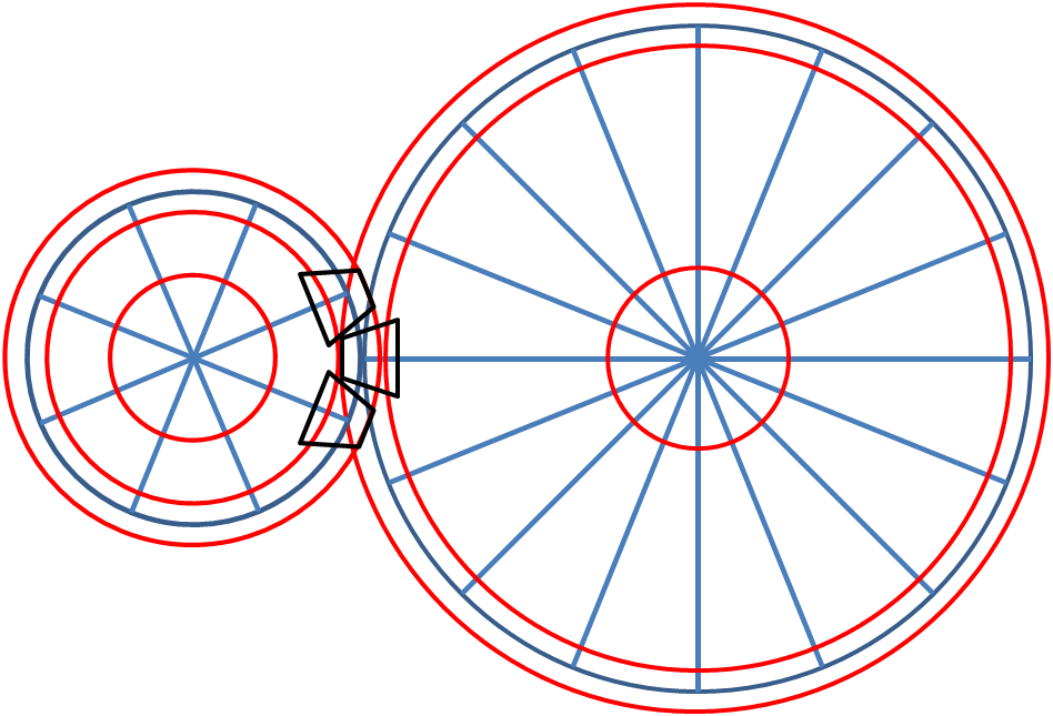 Drawing and animating gears. Gear clipart time wheel