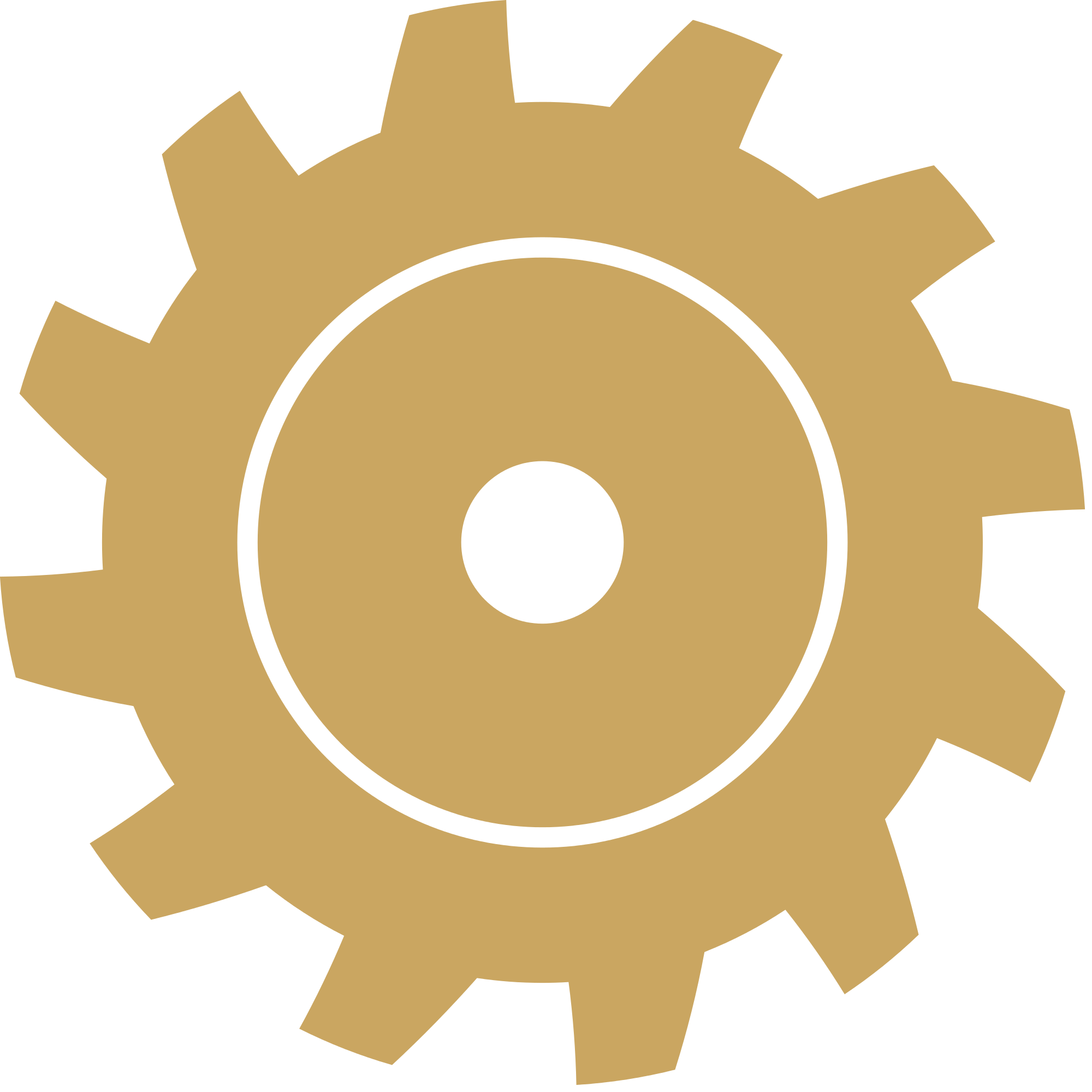 Gear clipart yellow gear. File shape gold svg