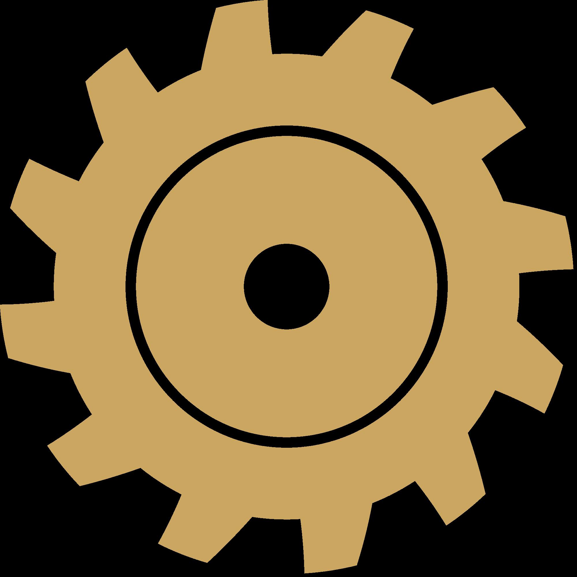 Gears clipart gear shape. File gold svg wikimedia