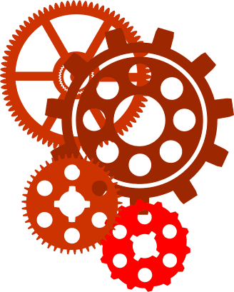 Collection of free gearing. Gear vector png