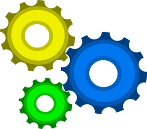 Gear clipart colorful gear. Free cliparts download clip