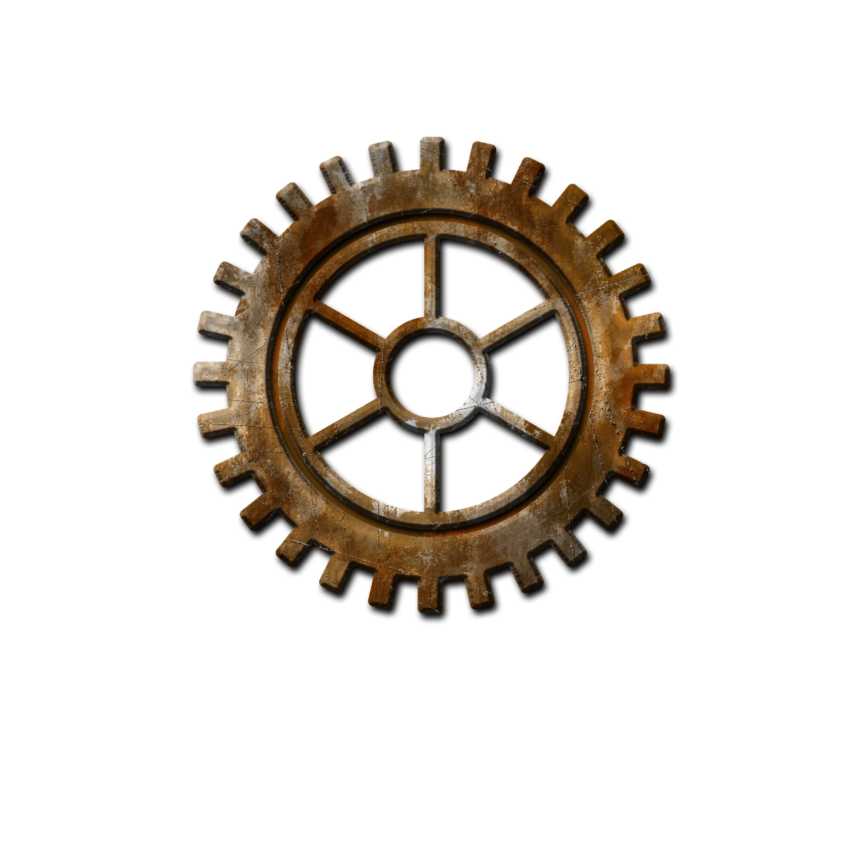 Steampunk clipart christmas. Gear transparent background png