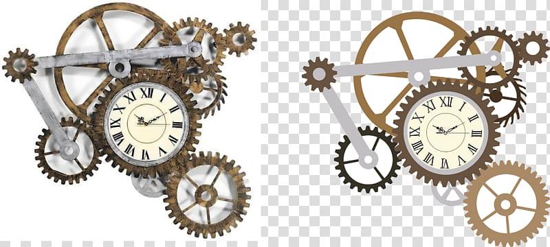 Gears clipart clock mechanism. Steampunk gear transparent