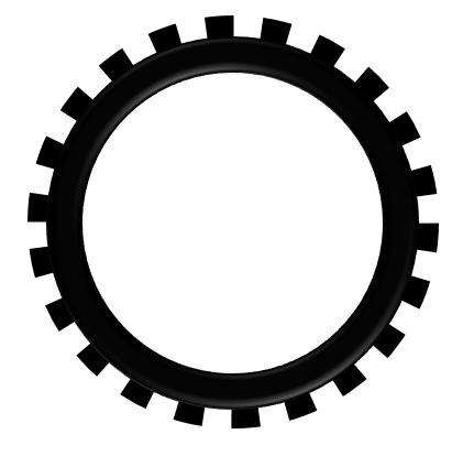 Gears clipart gear shape. Powerpoint tutorial how to