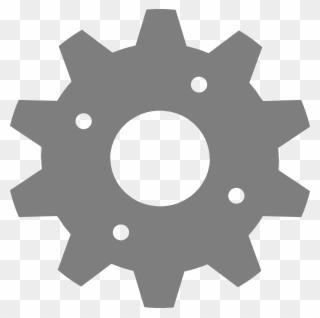 Gear by brady clip. Gears clipart grey