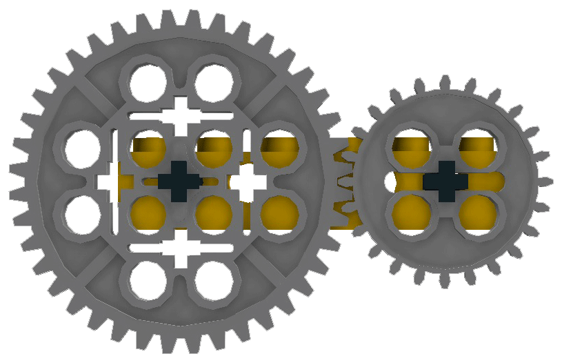 Gears clipart idea. Lego dimensions two gear