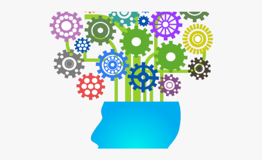 Gears clipart mind. Professional education with