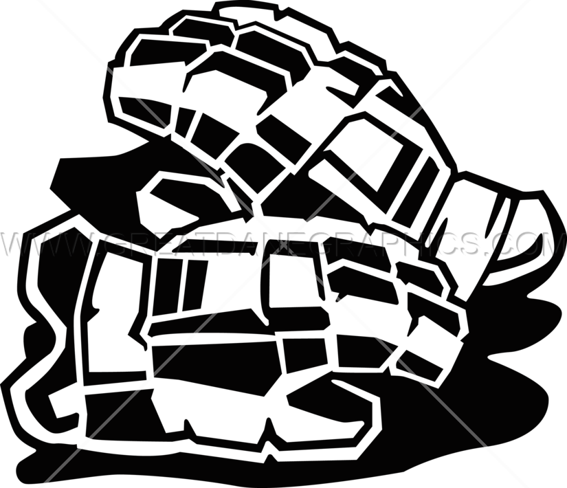 Lacrosse gloves ready artwork. Gears clipart production
