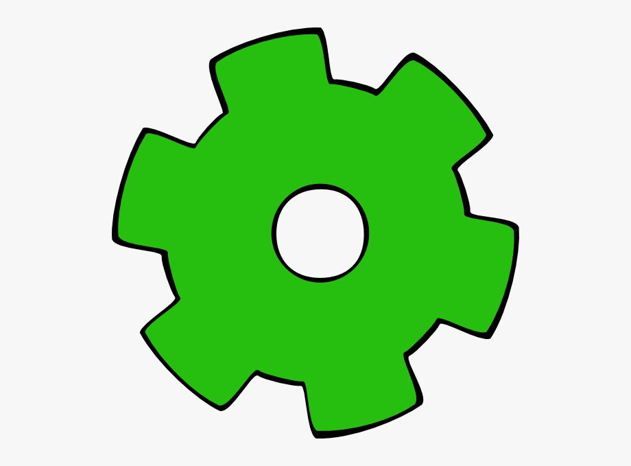Gears clipart single gear. Clip art colorful free