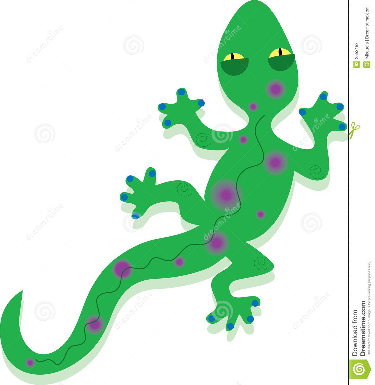 Gecko clipart. Lizard