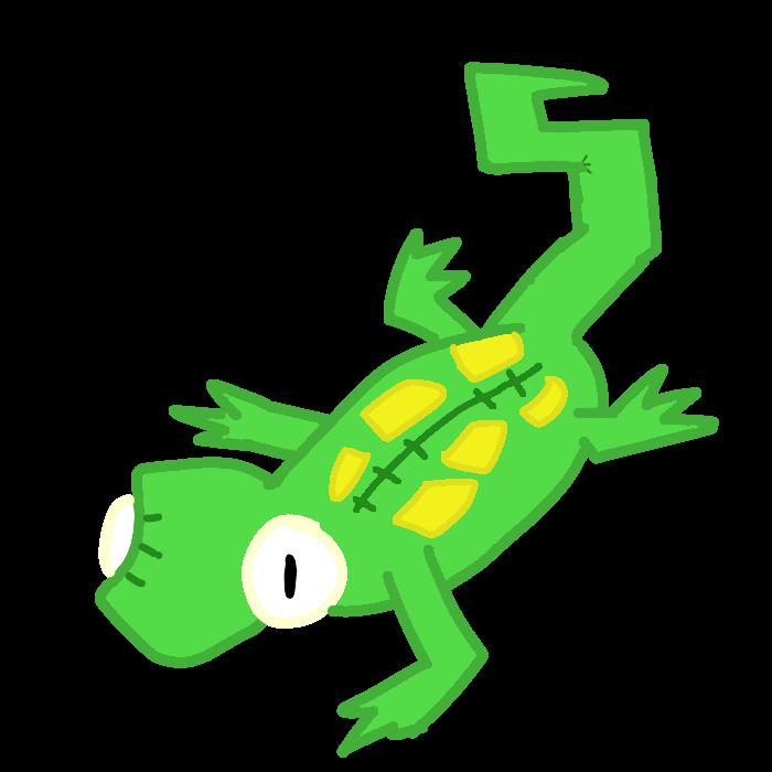 Gecko clipart green gecko. Transparent by aj transparents