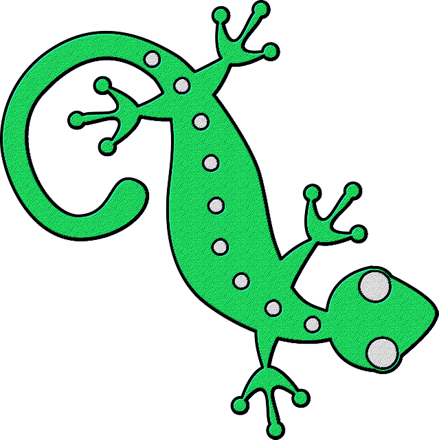 Dreaming with geckos thought. Gecko clipart green gecko