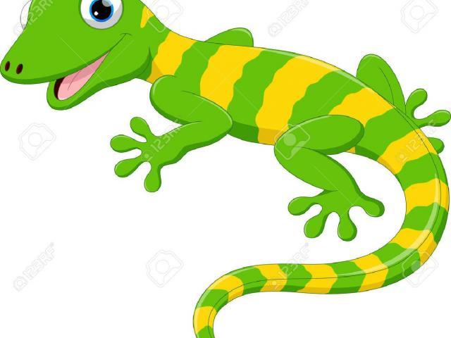 Gecko clipart green gecko. Free download clip art