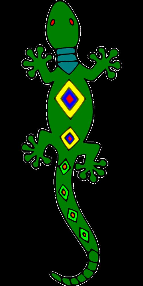 Gecko clipart iguana. Mandala circle spirituality religion
