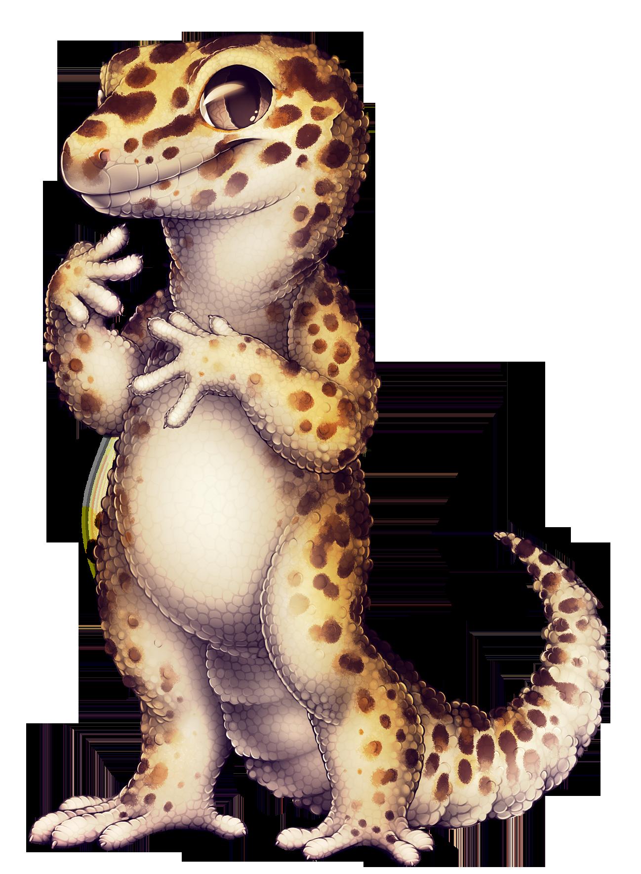 Paintie help furvilla enghjdtpng. Gecko clipart leopard gecko
