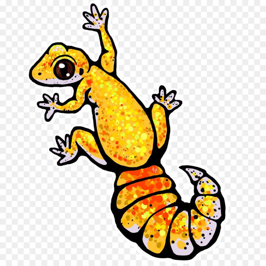 Station . Gecko clipart leopard gecko