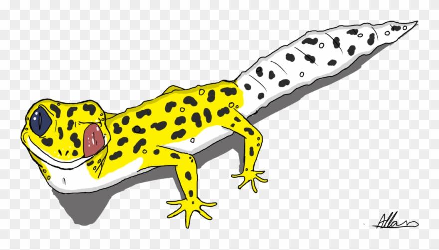 Gecko clipart leopard gecko. Cartoon png