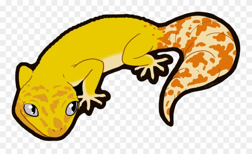 Svg library clip lizard. Gecko clipart line art