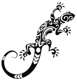 Gecko clipart outline. Leopard clip art