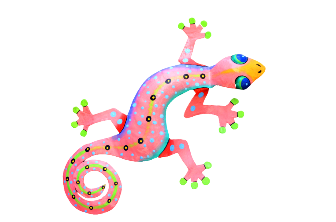 Gecko clipart pink. Colorful lizard psd file