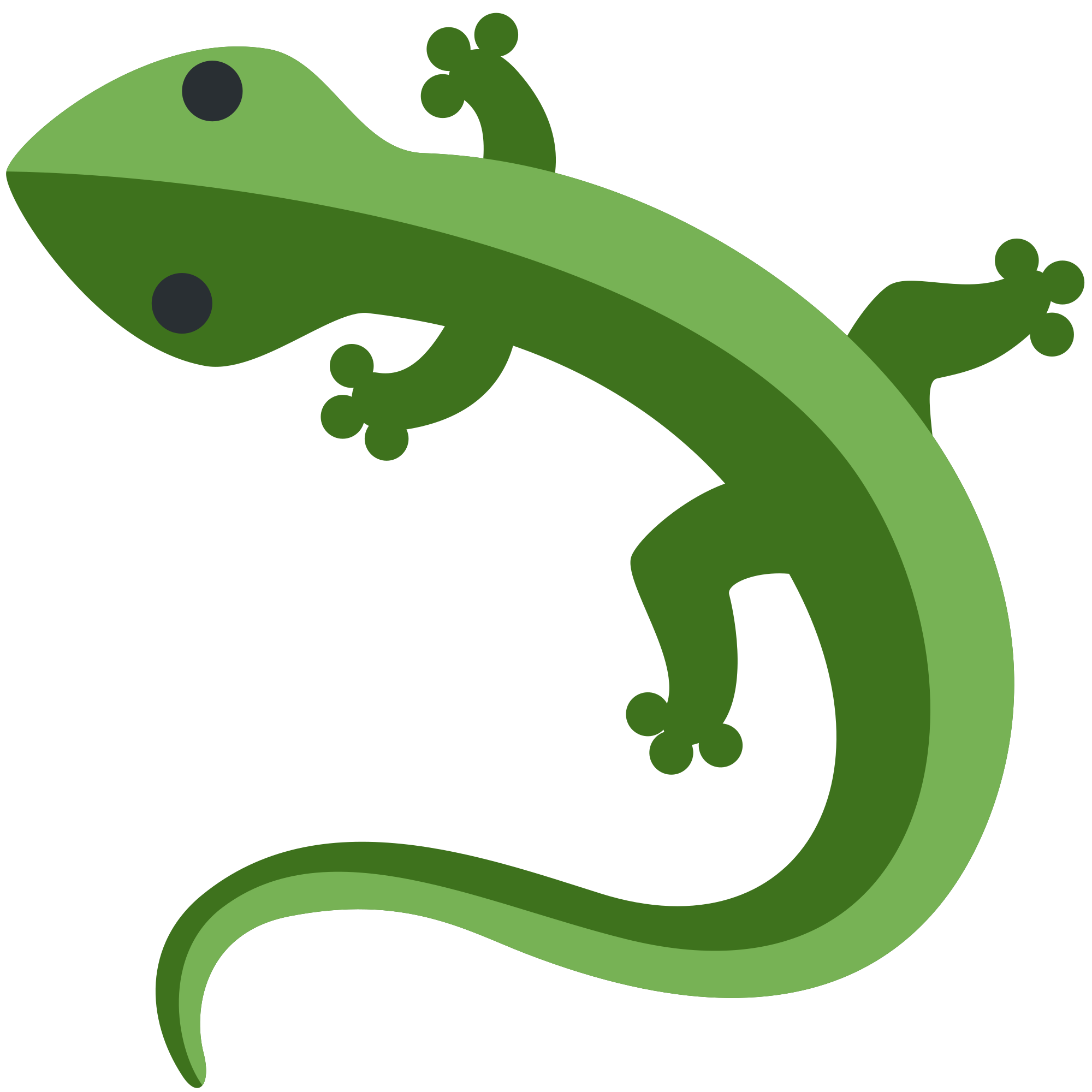 File twemoji f e. Gecko clipart svg
