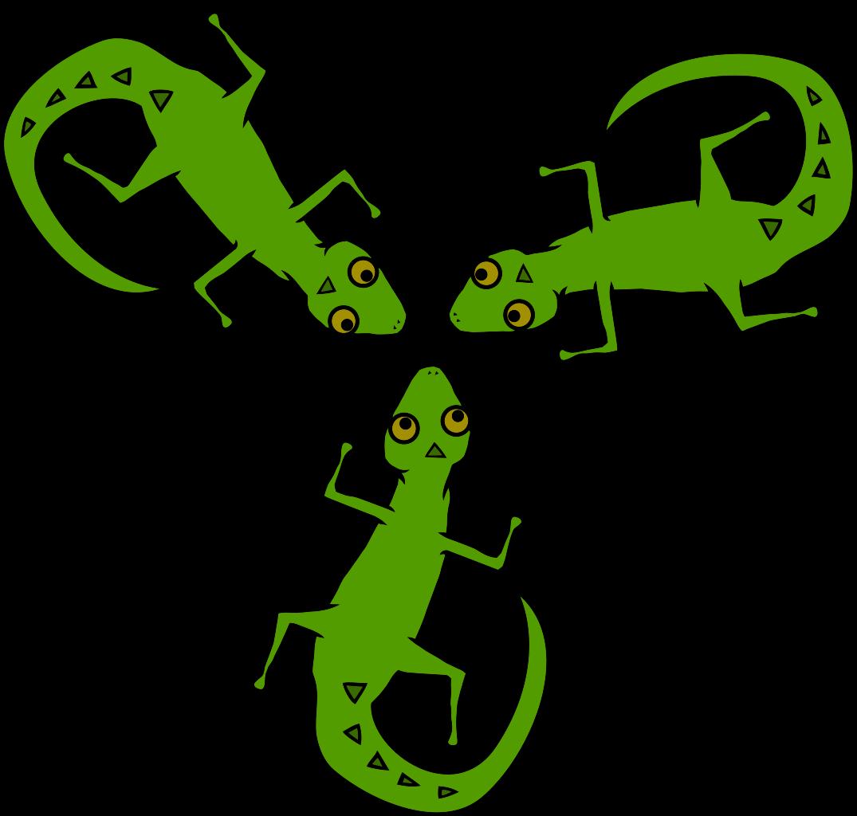 File geko wikimedia commons. Gecko clipart svg