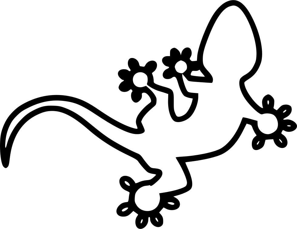Gecko clipart svg. Png icon free download