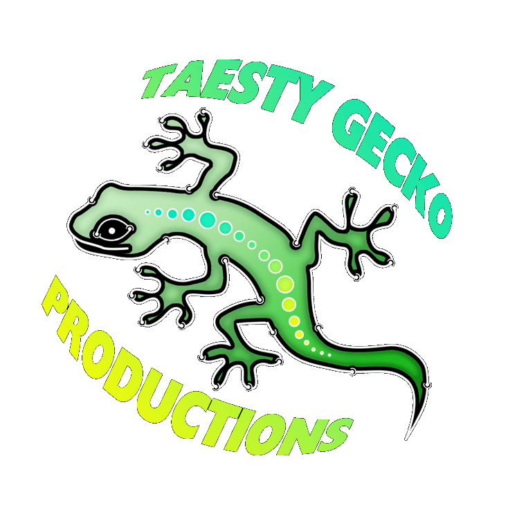 Taesty productions . Gecko clipart tribal
